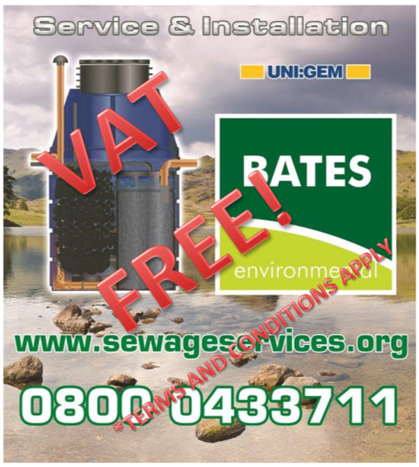 Service and install vat free