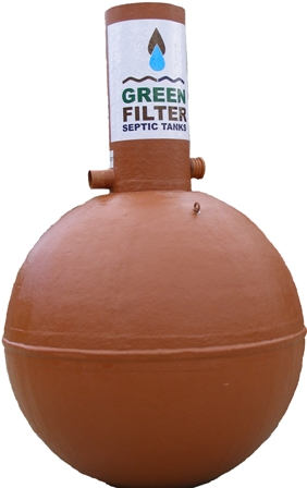 green filter septic tank